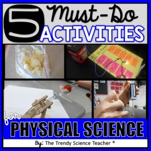 5 must do lab activities for physical science