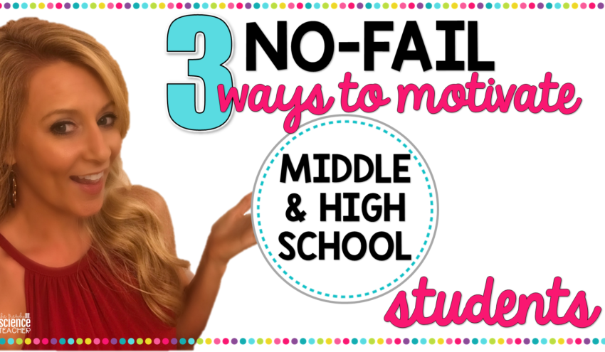 Ways to Motivate Middle & High School Students
