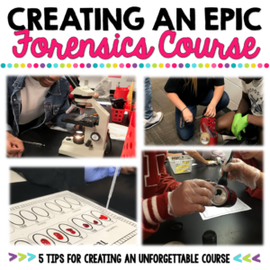 Creating an EPIC Forensics Course