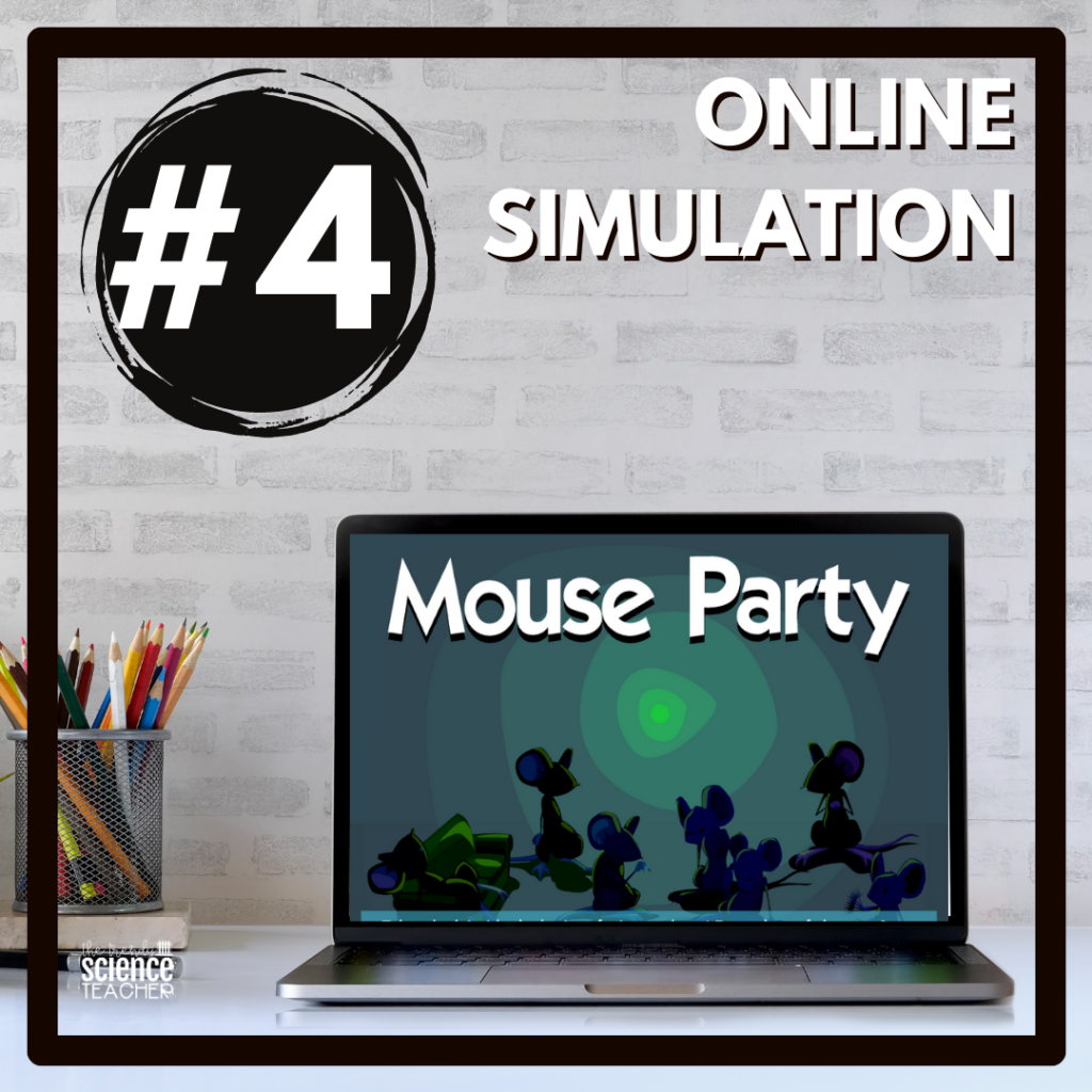 Mouse Party Interactive Forensics Activity