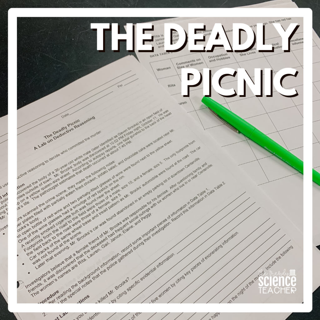 The Deadly Picnic - Deductive Reasoning Lab